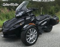 Can-Am Spyder ST Limited, 998 ccm