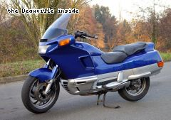 Essai Honda PC800 Pacific Coast